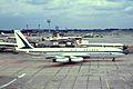F-BHSB B707-328 Air France LHR 24JUN66 (6052693632).jpg