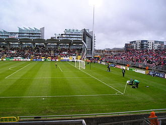 Tallaght Stadium - Tallaght Stadium during the 2009 FAI Cup Final