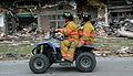 FEMA - 35408 - Firemen riding on an ATV in Iowa.jpg