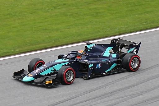 FIA F2 Austria 2018 Nr. 05 Albon (2)