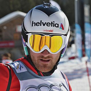 Alex Fiva Swiss freestyle skier