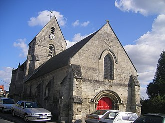 Pommiers, Aisne - The church of Pommiers
