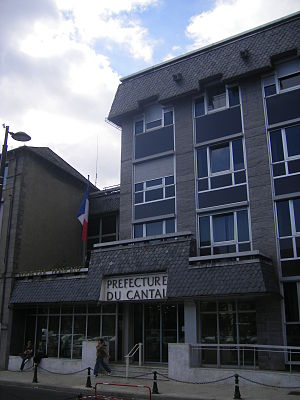 Cantal - Prefecture building of the Cantal department, in Aurillac