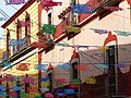 Facade with Festive Flags - Guanajuato - Mexico (38262635005).jpg