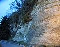 Falaise dans la molasse près de Pont-de-Beauvoisin.jpg