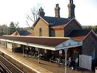 Falmer - Falmer Railway Station