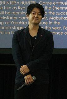Masaya Matsukaze Japanese actor, voice actor and radio personality