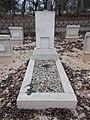 Farkasréti zsidó temető, katonai parcella, Blum Ignác sírja, 2016 Budapest.jpg