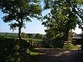 Farmyard entrance off Rockbeare Hill - geograph.org.uk - 181764.jpg