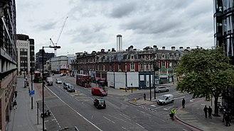 Farringdon Road - Farringdon Street, south of Farringdon Road