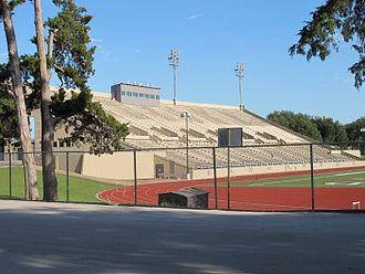Farrington Field - Farrington Field Grandstand