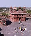 Fatehpur Sikri-18-Palast-Hof-Audienzhalle-1976-gje.jpg