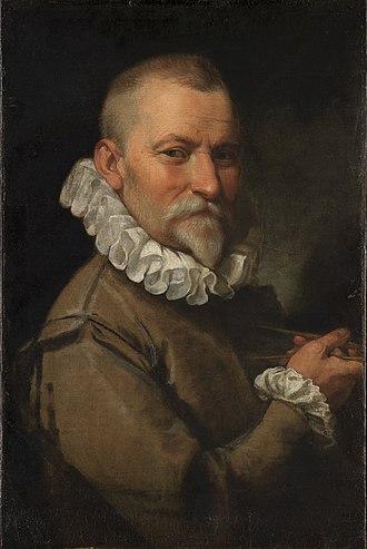 Domenico Fontana - Domenico Fontana by Federico Zuccari