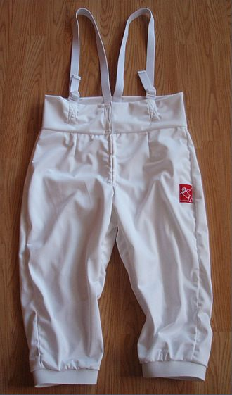 Knickerbockers (clothing) - Fencing knickers