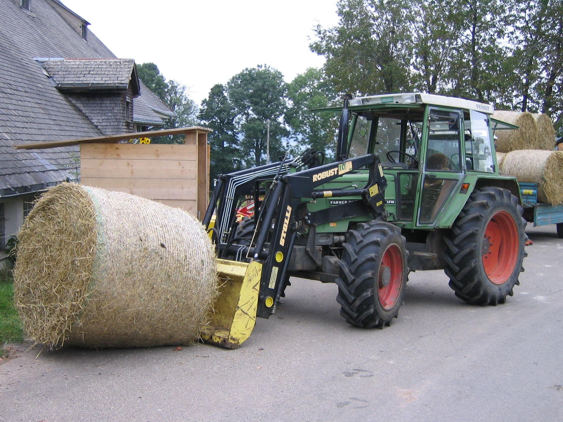 frontlader traktor wikipedia