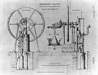 Matthew Murray - Image: Fenton, Murray and Wood steam engine