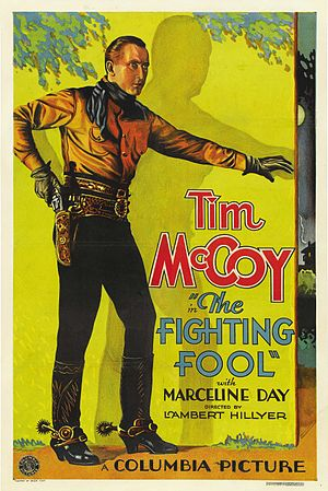Tim McCoy - Poster for The Fighting Fool (1932)