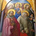 Filippo lippi, incoronazione marsuppini, post 1444, da pinacoteca vaticana, 04.JPG