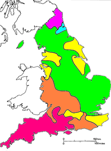 Rhoticity In English Wikipedia - Us accent map