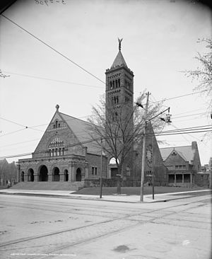 First Congregational Church (Detroit, Michigan) - Image: First Congregational Church 1903