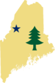 Flag map of Maine (1901).png