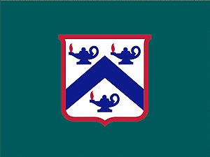 United States Army Combined Arms Center - Image: Flag of the U.S. Army Combined Arms Center