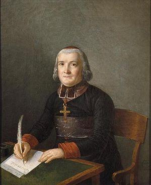 Antoine-Claude Fleury - Portrait of cardinal Joseph Fesch, 1807