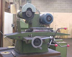 Flick grinder - Flick grinder with magnetic chuck