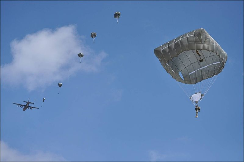 Flickr - The U.S. Army - First jump with the new T-11 parachute.jpg