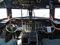 Flightdeck of Buffalo DC-4 CF-IQM (7437532462).jpg