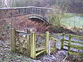Flood gauge near Pincock Bridge - geograph.org.uk - 1156571.jpg