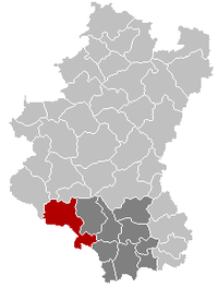 Florenville Luxembourg Belgium Map.png