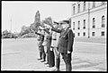 """Fo30141711140055 """"Reservebataljon Holmestrand paraderer for Quisling på Slottsplassen"""" 1942-06-14 (NTBs krigsarkiv, Riksarkivet).jpg"""