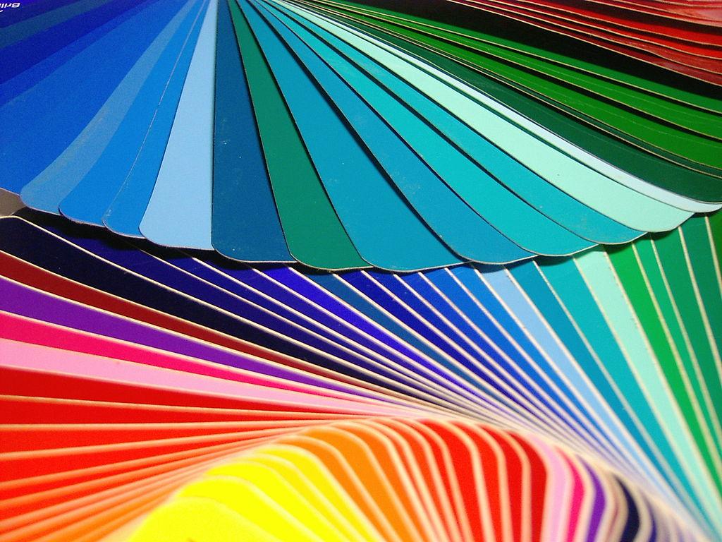 nuancier des couleurs ral