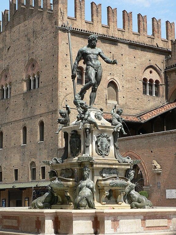 Fontaine de Neptune à Bologne - Photo de Patrick Clenet