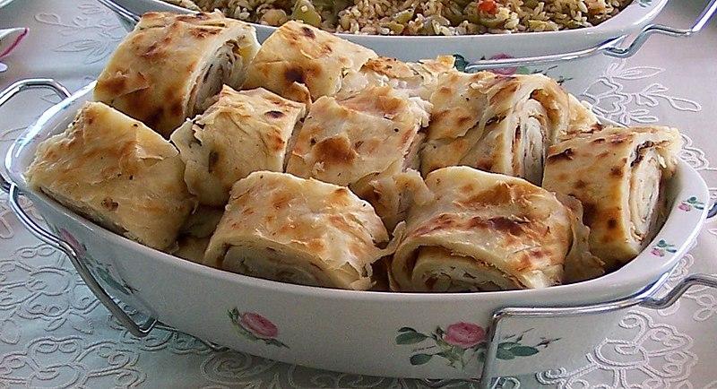 Gözleme. From Best Street Foods in Istanbul, Turkey