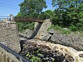 Footbridge at Bad Little Falls, Machias, Maine, image 1.jpg