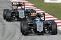 Force India duo 2015 Malaysia Race.jpg