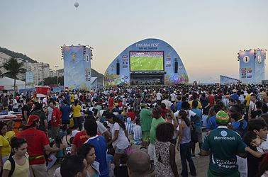 Foreign supporters celebrate the Fifa Fan Fest in RJ 03.jpg