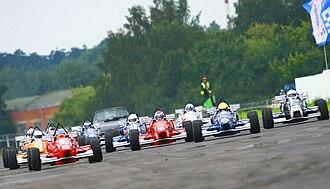 Formula RUS - Formula RUS cars on the grid