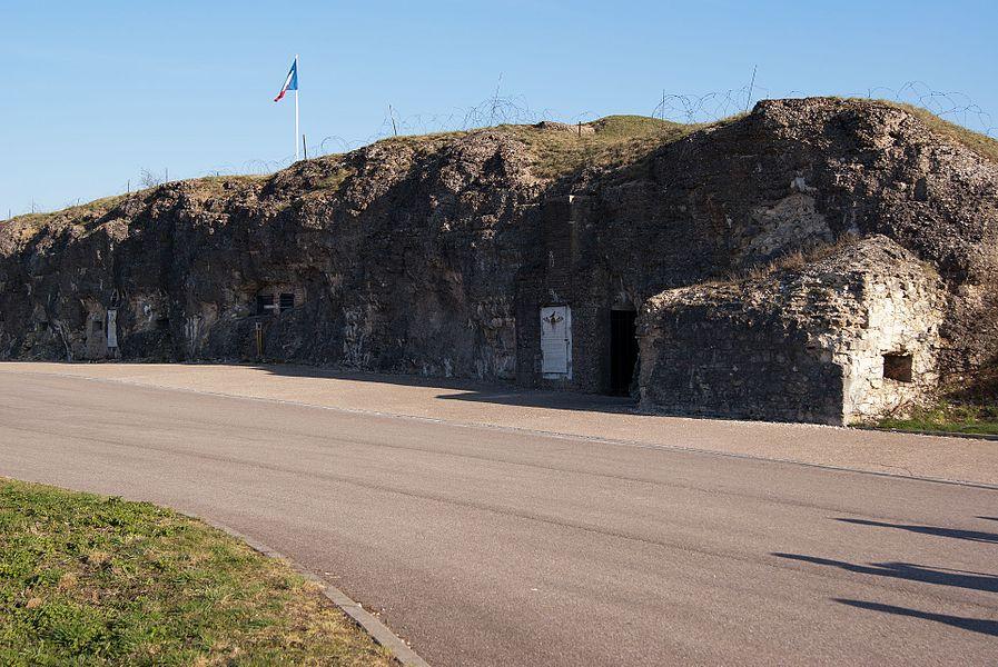 Front of Fort Vaux, Verdun, France