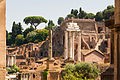Forum Romanum through Arch of Septimius Severus Forum Romanum Rome.jpg