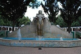 <i>Fuente de los Cántaros</i> Ornamental fountain in Mexico City, Mexico