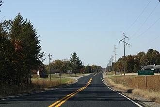 Wisconsin Highway 162 - Northern terminus