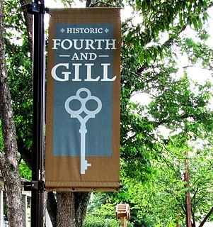 Fourth and Gill, Knoxville human settlement in Knoxville, Tennessee, United States of America