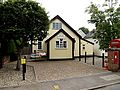 Foxearth Village Hall & Foxearth George V Postbox (geograph 4039308).jpg