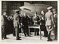 """Fra overtakelsessermonien for luftskipet """"Norge"""" i luftskiphallen på Ciampino-flyplassen, 29. mars 1926 (8887662980).jpg"""