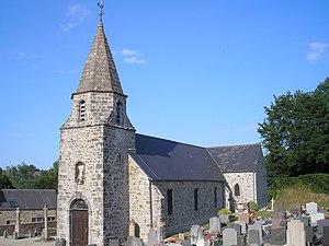 L'église de Saint-Christophe-du-Foc