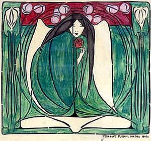 Frances MacDonald - Image: Frances Mac Donald Floral Design 1901