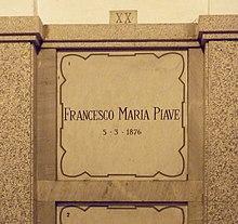 Bir mezarın duvarındaki mermer mezar taşı